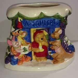 Disney Winnie the Pooh figurine collectible Christ